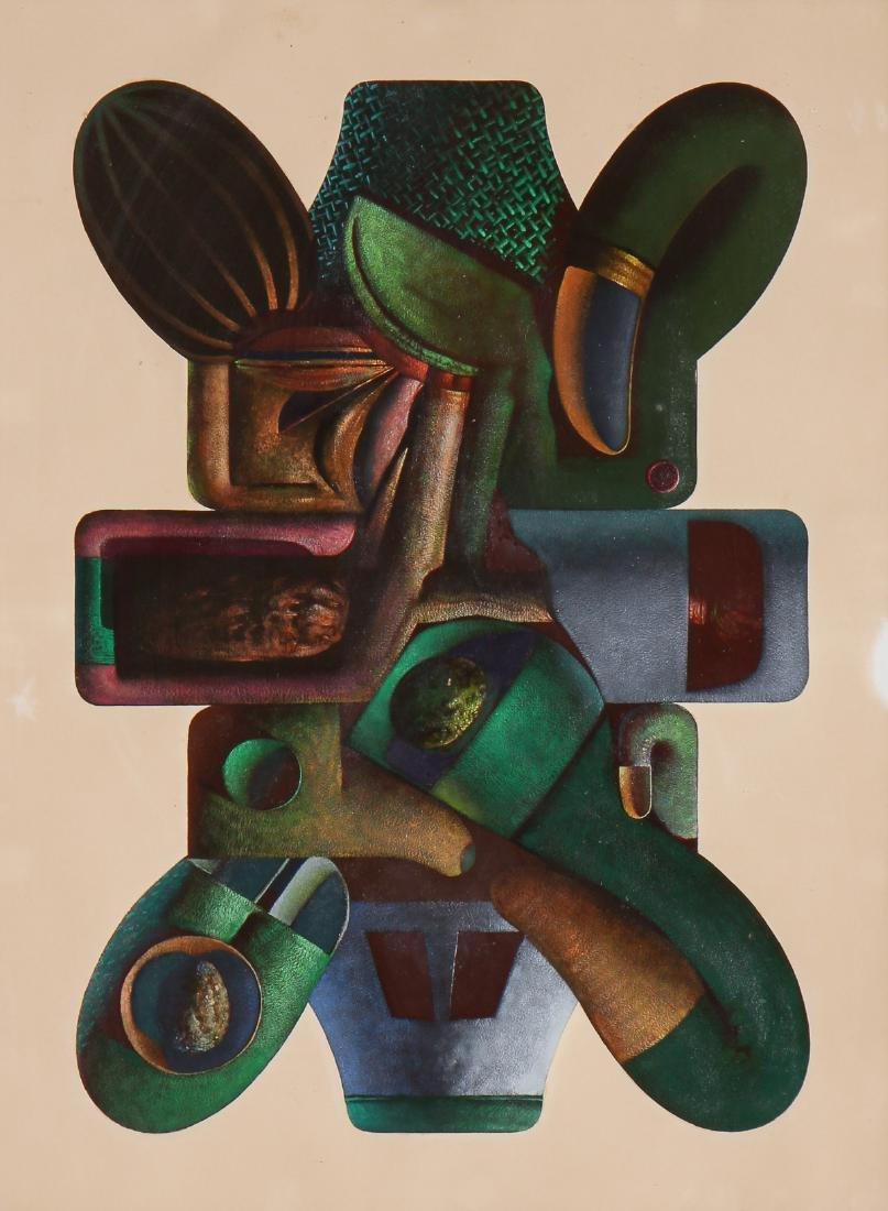 """Clayton Anderson (b. 1943) """"Baroque Form"""", 1969"""