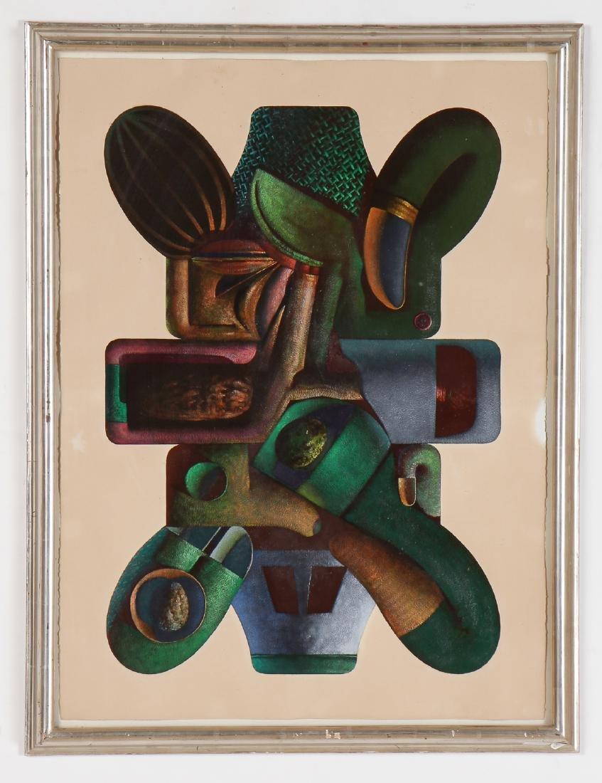 """Clayton Anderson (b. 1943) """"Baroque Form"""", 1969 - 2"""