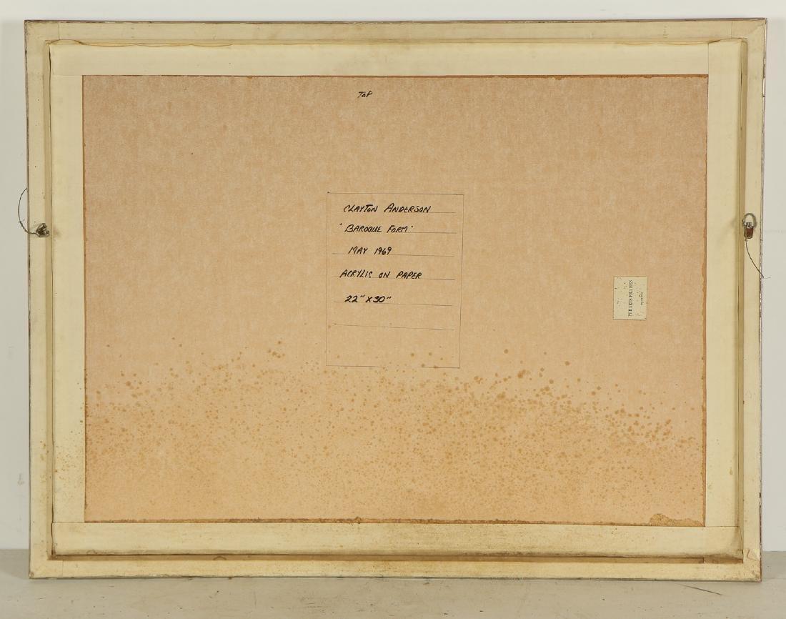 """Clayton Anderson (b. 1943) """"Baroque Form"""", 1969 - 3"""