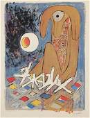 """Roberto Matta (1911-2002) """"Le Pianiste"""", 1956"""