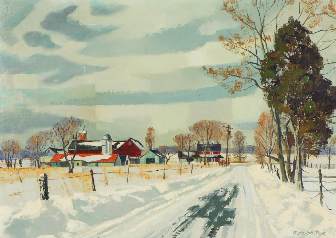 "Ranulph Bye (1916-2003) ""Plumstead Farm"""