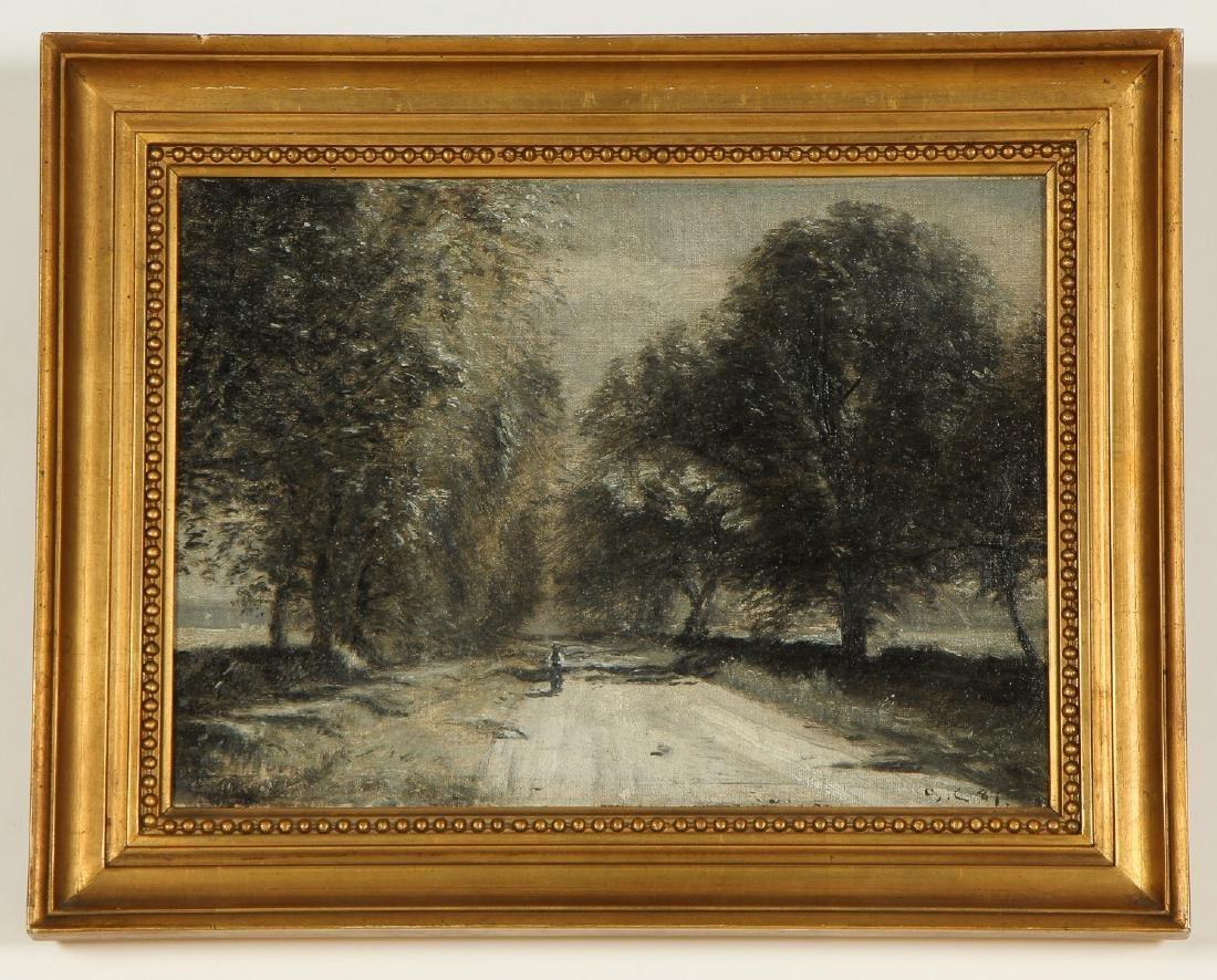 Godfred Christensen (1845-1928) Landscape Painting