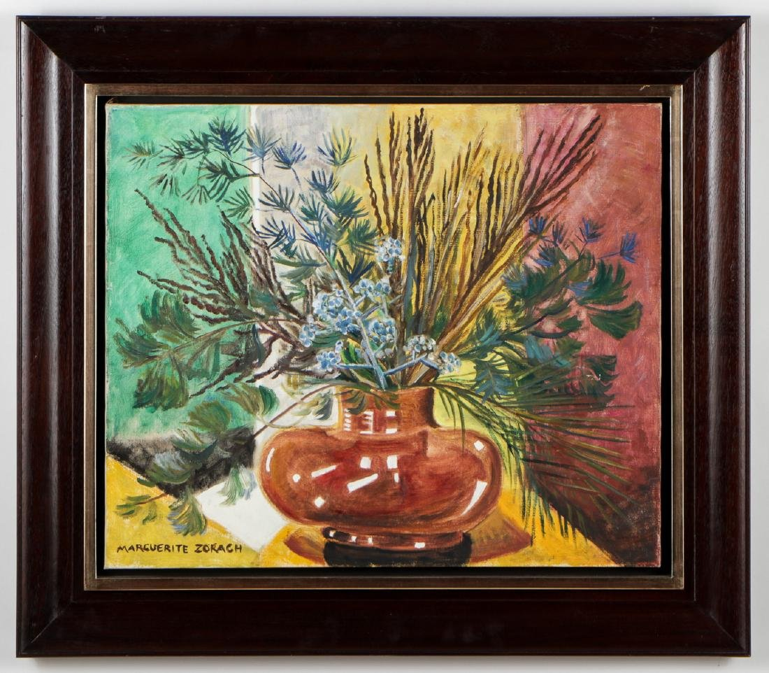Marguerite Zorach (1887-1968) Winter Still Life, 1956 - 2