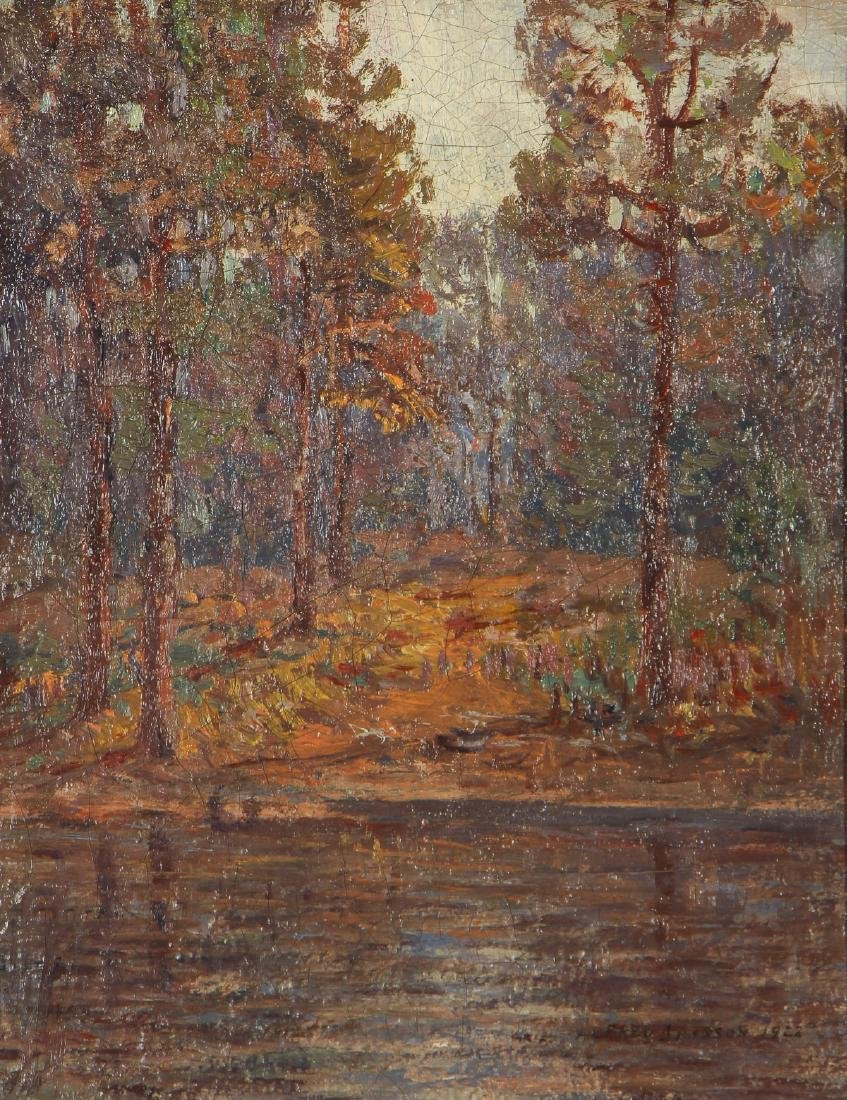 Alfred Jansson (1863-1931) Landscape, 1922