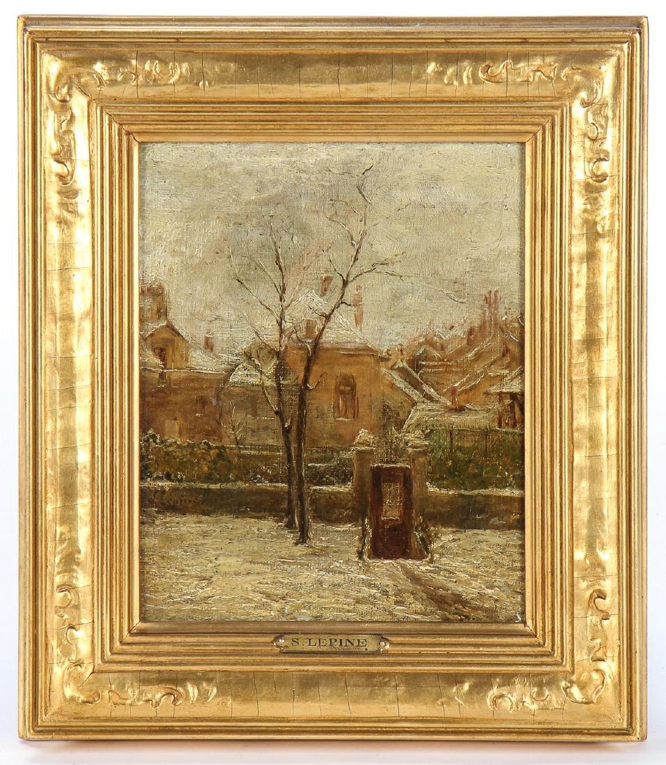 Stanislas Lepine (French, 1835-1892) Painting