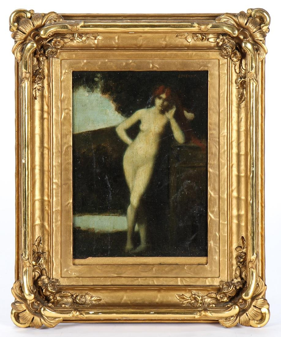 Jean Jacques Henner (French, 1829-1905) Nude