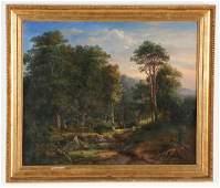 "European School (19th c.) Landscape signed ""G. M'âyer"