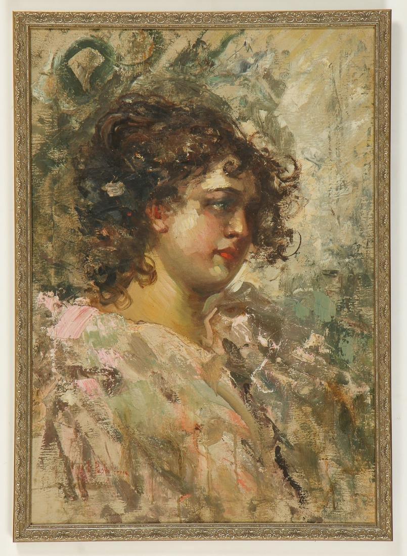 Luca Postiglione (Italian, 1876-1936) Portrait