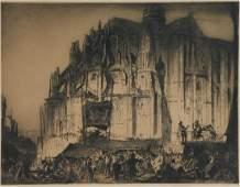 Sir Frank Brangwyn (British, 1867-1956) Engraving