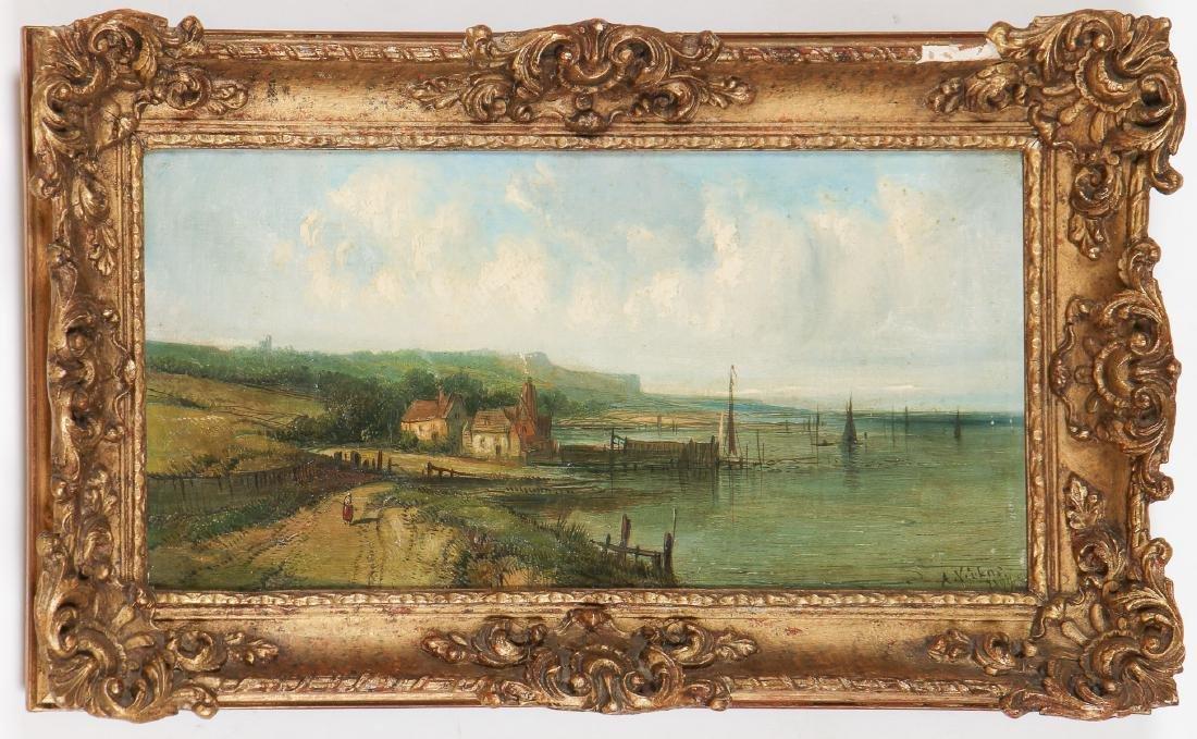 Alfred Vickers Sr . (1786-1868) Landscape