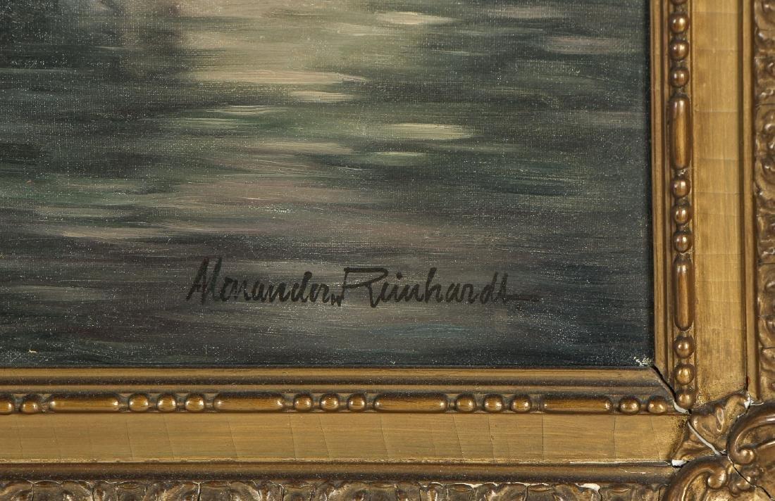 """Alexander Reinhardt """"King's River, Bavaria"""" Landscape - 3"""