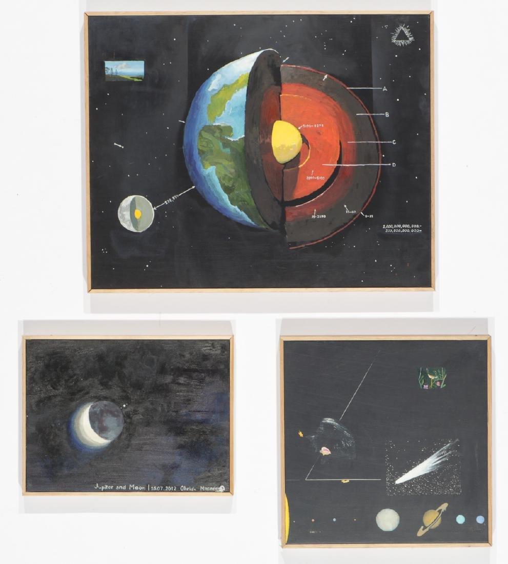 Jimmy Bellew (American, 20th c.) 3 Paintings