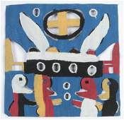 David Butler (1898-1997) Double-sided Cutout