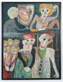 Jon Serl (American/California, 1894-1993) Painting