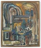 Jon Serl (1894-1993) Painting, 1958