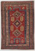 Antique Kazak Rug, Caucasus: 4'6'' x 6'6''