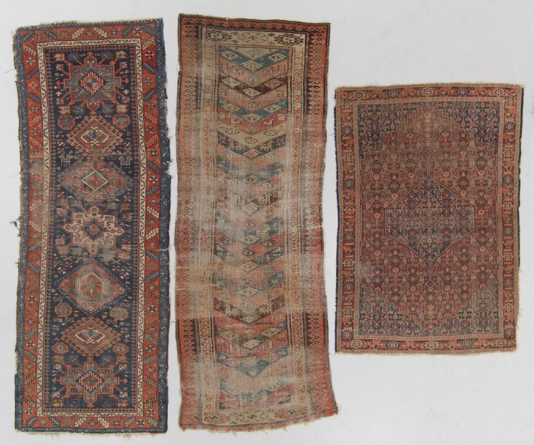 3 Antique Persian Rugs
