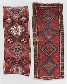 2 Antique East Anatolian Kurd Rugs