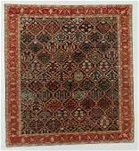 Vintage Malayer Style Rug, Turkey: 7'9'' x 8'5''