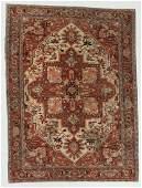 Vintage Serapi Rug, Turkey: 6'6'' x 8'8''