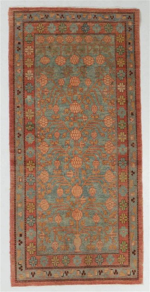 Vintage Khotan Rug Turkey 3 11 X 8 0