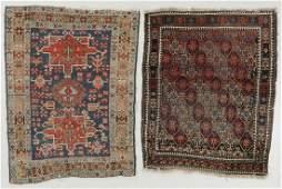2 Antique Karadja & Beluch Rugs