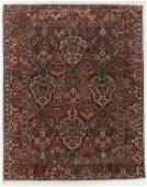 Semi-Antique Baktiari Rug, Persia: 9'3'' x 11'4''