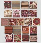 Group of 21 Vintage Kilim & Suzani Pillows