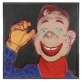 """Andy Warhol (1928-1987) """"Howdy Doody"""" from Myths, 1981"""