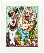 "Rex Clawson (1929-2007) ""Pavarotti and the Elderly"