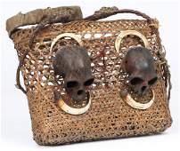 Konyak Naga Headhunter Basket