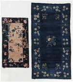 2 Antique Peking Rugs China