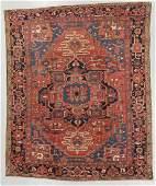 Antique Heriz Rug, Persia: 9'4'' x 11'5''