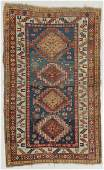 Antique Kazak Rug, Caucasus: 4'3'' x 7'1''