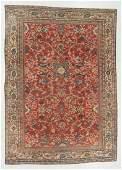 Antique Sultanabad Rug, Persia: 8'4'' x 11'8''