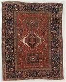 Antique Karadja Rug, Persia: 4'11'' x 6'3''