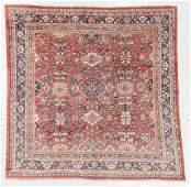 Antique Mahal Rug, Persia: 10'1'' x 10'3''