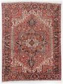 SemiAntique Heriz Rug Persia 711 x 105