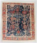 Vintage Azeri Rug, Turkey: 8'3'' x 9'4''