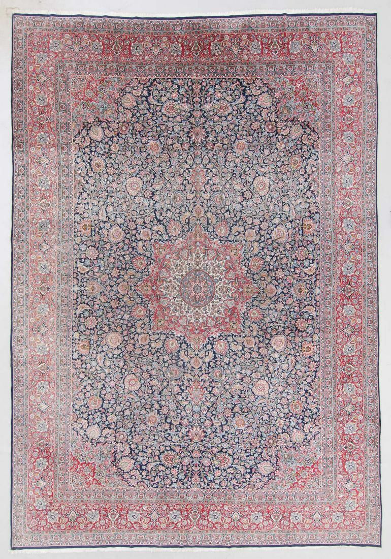Semi-Antique Kerman Rug, Persia: 12'9'' x 18'6''