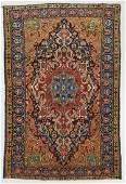 SemiAntique Baktiari Rug Persia 50 x 78