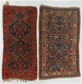 Two Antique Kurd Rugs