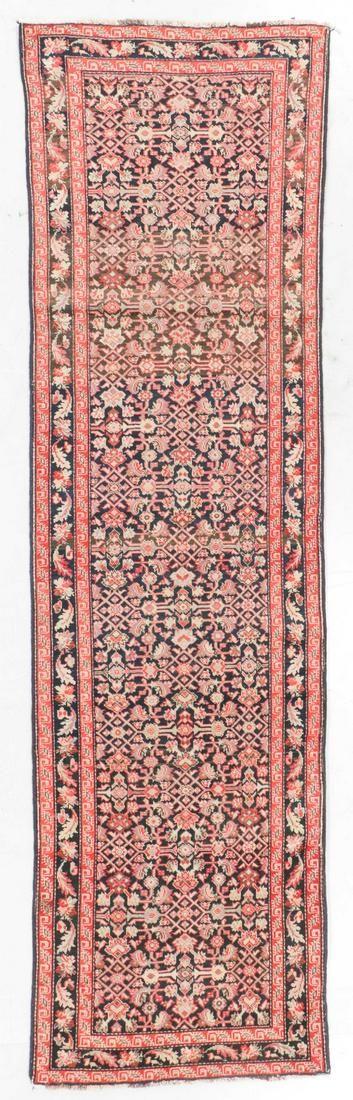 Semi-Antique Malayer Rug, Persia: 3'6'' x 12'5''