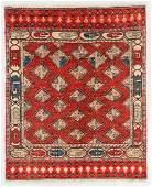 Vintage Afghan Rug, Afghanistan: 4'10'' x 5'10''