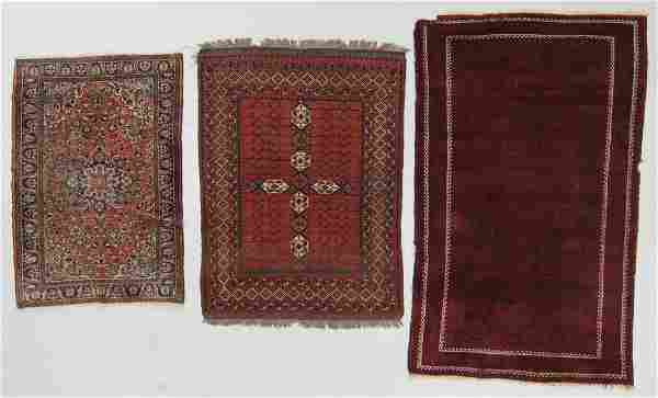 Estate Lot of 3 Oriental Rugs