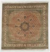 Vintage Indo-Persian Rug, India: 6'5'' x 6'4''
