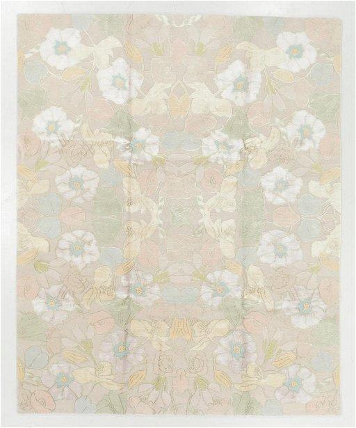 Modern Tibetan Wool Silk Rug 8 0 X 10