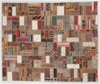 Turkish Kilim Patchwork Rug 80 x 100
