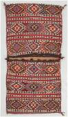 Antique East Anatolian Flatweave Heybe/Saddlebags