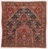 Antique Khamseh Confederacy Saddle Rug, Persia